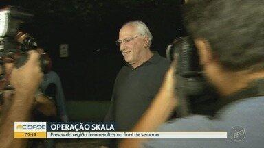 Investigados pela operação Skala são soltos após decisão da procuradora-geral da República - Duas das dez pessoas foram presas na quinta-feira.