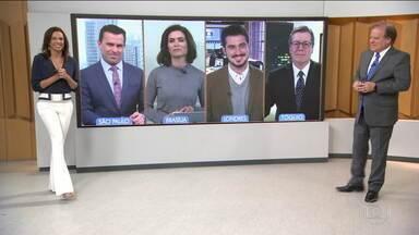 Bom Dia Brasil - Íntegra 02 Abril 2018 - O telejornal, com apresentação de Chico Pinheiro e Ana Paula Araújo, exibe as primeiras notícias do dia no Brasil e no mundo e repercute os fatos mais relevantes.