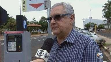 Araraquara recebe 115 novas vagas de área azul na região central - Tarifa mínima continua sendo R$ 1,30 por 30 minutos.