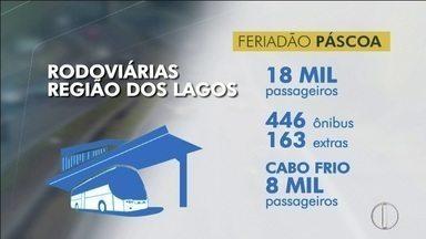 Confira a expectativa de movimentação nas rodovias do interior do Rio - Assista a seguir.