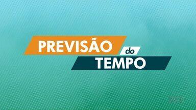 Massa de ar seco ganha força e inibe chuvas no norte do Paraná - Em Londrina máxima de 29º nesta terça-feira (03).