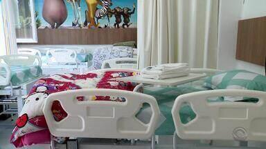Moradores se unem e arrecadam recursos para construção de ala infantil em hospital do RS - A ala foi entregue antes do tempo estimado no hospital público de Dois Irmãos.