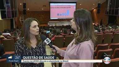 Evento na UFMG discute a obesidade no Brasil - Veja entrevista com a professora de nutrição Adaliene Ferreira.