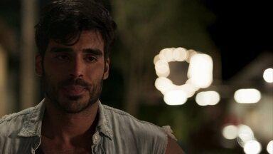 Xodó testemunha toda a ação de Sophia e Zé Victor sem ser visto - Marido de Cleo se desespera com o que viu