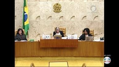 Ministros do STF votam pedido de habeas corpus apresentado pela defesa de Lula - A sessão durou quase onze horas. O resultado foram seis votos contra cinco.