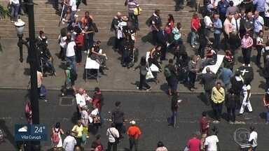SP1 - Edição de quinta-feira, 05/04/2018 - Funcionários da Saúde protestam contra precariedade do SUS. Metrô inaugura mais uma nova parada e libera trânsito no Ibirapuera. E mais as notícias da manhã.