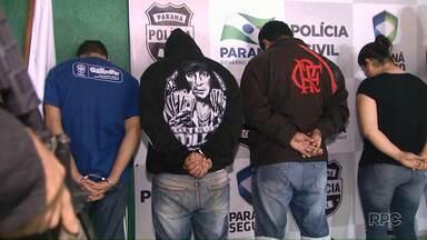 Traficantes são presos em Cascavel - O grupo vendia cocaína pelo telefone.