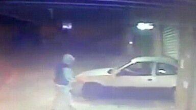Crime comum em São José voltou a ocorrer nessa madrugada - Bandidos usaram carro para invadir padaria no Putim.