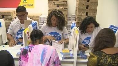 Feirão tira dúvidas sobre TV digital neste fim de semana, em Manaus - Também poderão ser encontrados produtos a preços acessíveis.