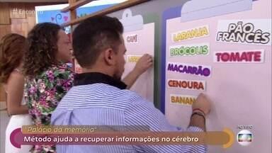 Convidados fazem teste de memória - Dr. Fernando Gomes Pinto explica método que ajuda a recuperar informações no cérebro