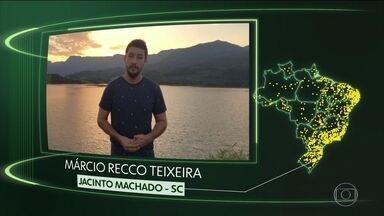 Jacinto Machado, Tacaimbó, Tremedal, Anaurilândia, São João da Barra, Maracaí, N. Guarita - Moradores de Jacinto Machado (SC), Tacaimbó (PE), Tremedal (BA), Anaurilândia (MS), São João da Barra (RJ), Maracaí (SP) e Nova Guarita (MT) dizem o que querem para o futuro.