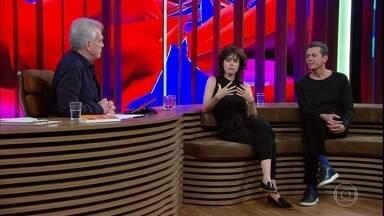 """Carolina Jabor fala sobre disseminação da intolerância pelas redes sociais - Wagner Schwartz afirma que se identificou com o protagonista de """"Aos Teus Olhos"""""""