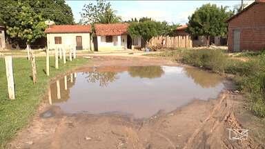 Moradores de Bela Vista sofrem com consequências das chuvas fortes - Muitas ruas da cidade estão tomadas pela lama ou destruídas pela erosão.