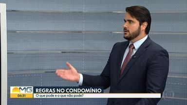 Advogado fala sobre os direitos e deveres de quem mora em condomínio - Entrevista no estúdio com o advogado Sílvio Cupertino Marinho.