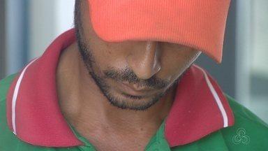 Policia prende suspeito de atropelar jovem em Manaus - Ele deverá responder a três crimes; lesão corporal de trânsito, dirigir sem carteira nacional de habilitação e deixar de prestar socorro a vítima.