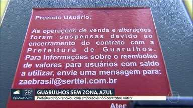 Guarulhos está sem Zona Azul há 15 dias - A prefeitura não renovou o contrato com a empresa e não contratou outra.