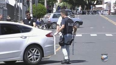 Grupo de operações especiais da polícia retira explosivos de agência bancária em Passos - Grupo de operações especiais da polícia retira explosivos de agência bancária em Passos