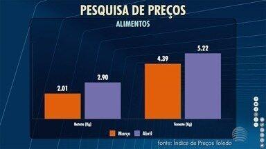 Pesquisa de preços constata inflação nos supermercados em Presidente Prudente - Levantamento foi realizado em seis estabelecimentos.