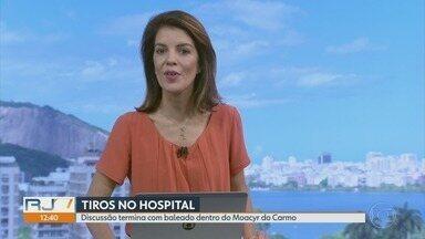RJ1 - Íntegra 11 Abril 2018 - O telejornal, apresentado por Mariana Gross, exibe as principais notícias do Rio, com prestação de serviço e previsão do tempo.