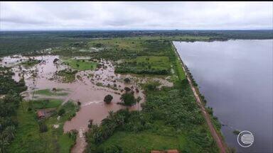 Ameaça de rompimento da Barragem do Bezerro deixa 8 cidade em estado de alerta - Ameaça de rompimento da Barragem do Bezerro deixa 8 cidade em estado de alerta