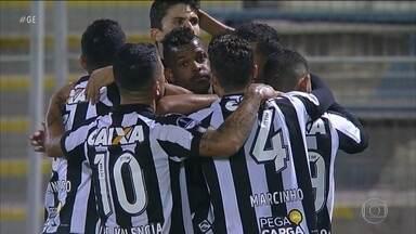 Botafogo vence de virada o Audax Italiano na Copa Sul-Americana - Botafogo vence o Audax Italiano, time do Loco Abreu, por 2 a 1 na Copa Sul-Americana.