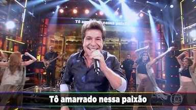 Daniel canta sucesso 'Eu me amarrei' no Ding Dong - Plateia e convidados dançam e cantam animados