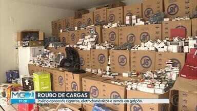 Polícia apreende mais de R$ 3 milhões em produtos dentro de galpão, na Grande BH - Ninguém foi preso