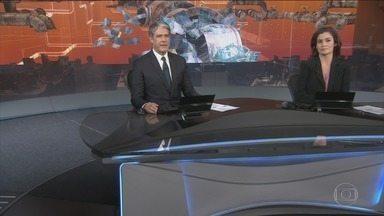 Jornal Nacional - Íntegra 16 Abril 2018 - As principais notícias do Brasil e do mundo, com apresentação de William Bonner e Renata Vasconcellos.