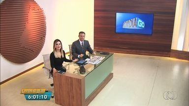 Veja os destaques do Bom Dia Goiás desta terça-feira (17) - Criança de 11 anos grávida está internada com suspeita de H1N1, em Goiânia.