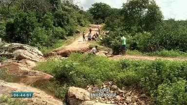 Moradores do município de Granja estão isolados - Saiba mais em g1.com.br/ce