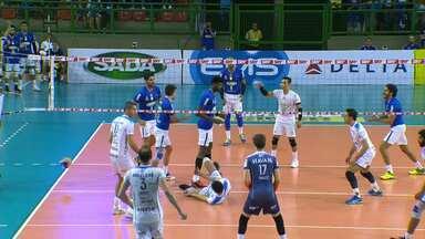 Superliga Masculina de Vôlei - Semifinal - jogo 3 - Cruzeiro x Taubaté