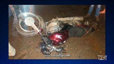 Motociclista morre após cair em buraco na BR-135 no MA - O acidente fatal é mais um alerta aos motoristas e motociclistas sobre o perigo que se espalha no trecho urbano da rodovia na capital.