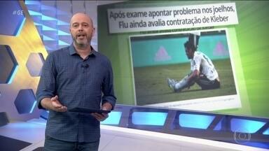 Após resultado de exame, Fluminense ainda avalia contratação de Kleber - Após resultado de exame, Fluminense ainda avalia contratação de Kleber