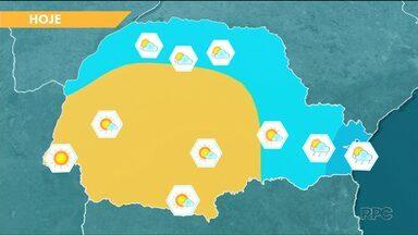 Curitiba registra a madrugada mais fria do ano - A temperatura mínima foi de 13,3°C, na capital paranaense.