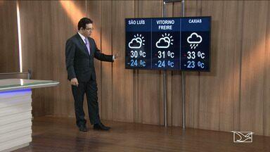 Veja a previsão do tempo nesta terça-feira (17) no MA - Confira como deve ficar o tempo e a temperatura em São Luís e no Maranhão.
