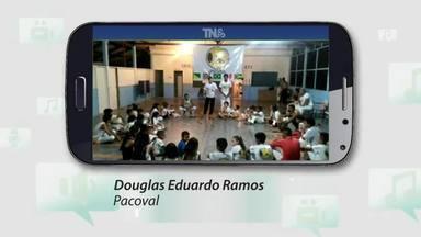 Tô na Rede: projeto social oferece aulas gratuitas de capoeira em Macapá - Douglas Eduardo Ramos está convidando a comunidade pra participar de um projeto social com aulas de capoeira para crianças, jovens e adultos de famílias carentes do Canal do Jandiá.