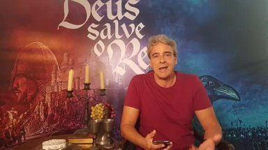 Live #DSR: Alexandre Borges responde perguntas sobre Rei Otávio de #DeusSalveoRei - Confira o vídeo
