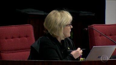 Rosa Weber vota pela denúncia, forma maioria e Aécio se torna réu - Para ela, houve indícios de obstrução de justiça 'pela tentativa de escolha de delegados da PF para conduzirem os inquéritos da Lava Jato'.