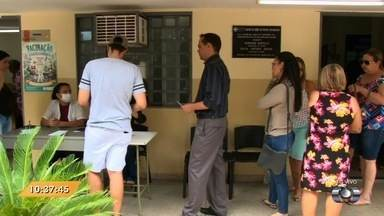 Anhanguera Notícias: alguns postos têm fila pequena para vacinação contra H1N1 - Veja essa e mais notícias no Anhanguera Notícias.