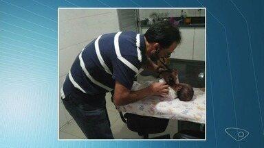 Bebê de dois meses é salva por policiais rodoviários federais no Espírito Santo - Registro foi feito nesta quarta-feira (18).