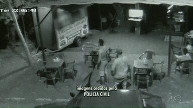 Paraná TV tem acesso a investigação contra homem que seria chefe do crime no Portal da Foz - Ele foi preso dentro da delegacia da polícia civil