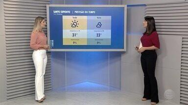 Confira a previsão do tempo para esta quinta-feira - Veja como ficam as temperaturas na região de Presidente Prudente.