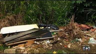 Moradores reclamam de mato, esgoto e buracos no Jardim Novo Mundo, em Goiânia - Falta de roçagem tem preocupado a população, que teme assaltos.