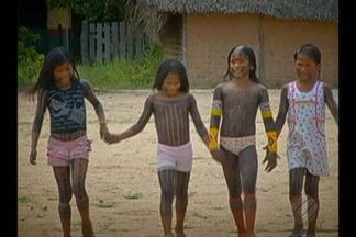 Alunos visitam aldeia indígena em Redenção - Alunos visitam aldeia indígena em Redenção