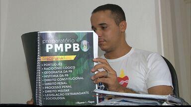 Na Paraíba candidatos se preparam para concurso da Polícia Militar - O concurso oferece 900 vagas.