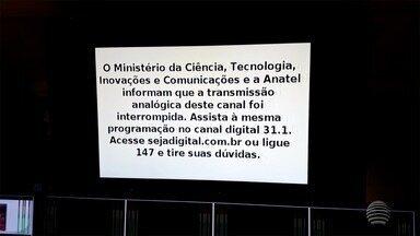 Sinal analógico de TV é desligado no Oeste Paulista - Primeira etapa abrangeu 27 cidades.