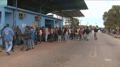 Assistência Social de SC recebe pedido da União para acolher 1,5 mil venezuelanos - Assistência Social de SC recebe pedido da União para acolher 1,5 mil venezuelanos