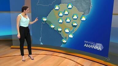 Sexta-feira (20) deve ser com predomínio de sol mas chove em algumas cidades do RS - Assista ao vídeo.