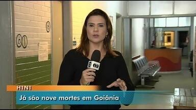 Casos de H1N1 em Goiânia chegam a nove - Dados foram trazidos por novo boletim epidemiológico da Secretaria Municipal de Saúde.