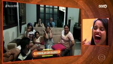 Brothers assistem às reações de suas famílias ao jogo do BBB - Finalistas ganham a oportunidade de assistirem ao programa junto com todo mundo